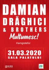 Concert Damian Draghici & Brothers - Multumesc!