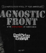 Agnostic Front [us], Death Before Dishonor [us] at /FORM Space