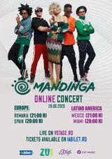 Mandinga: Online Live Concert Romania/Europe