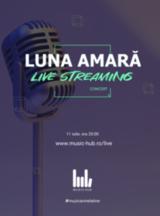 Luna Amara - concert online la Music Hub