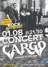 Concert Cargo la Rock Summer Weekend