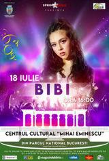 Concert Bibi pe 18 iulie