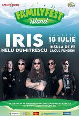 Concert Iris  Nelu Dumitrescu canta la FAMILYFEST Island