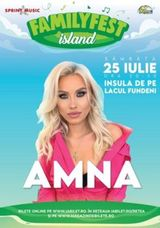 Concert Amna la FAMILYFEST Island