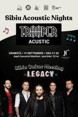 Trooper canta acustic la Sibiu pe 19 septembrie
