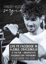 Concert acustic online - Sergiu