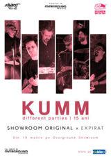 KUMM live-concert aniversar Different Parties - 15 ani