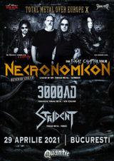 Concert Necronomicon / 3000 AD / Strident - Live in Quantic
