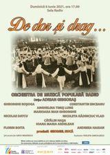 Concert Orchestra de Muzica Populara Radio - DE DOR SI DRAG