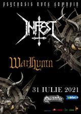 Concert Infest & Warhymn pe 31 iulie