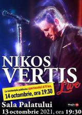 Concert Nikos Vertis pe 14 octombrie