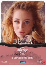 Delia canta la Hard Rock Cafe pe 8 septembrie