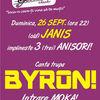 Concert byron la Janis Club, Cluj Napoca