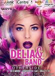 DELIA & Band canta pe 21 decembrie la Hard Rock Cafe