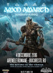 AMON AMARTH The Return Of The Vikings pe 4 decembrie la Arenele Romane