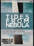 TIDES FROM NEBULA in concert la Bucuresti