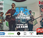 Alex & The Fat Penguins sarbatoresc trei ani printr-un concert electric in The Pub