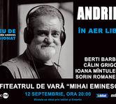 Alexandru Andries canta in aer liber