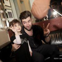 Poze Smiley si fanii in Hard Rock Cafe