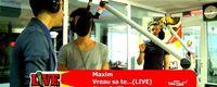 Maxim - Vreau sa te... / Sarutari Criminale live @ Pro FM (video)